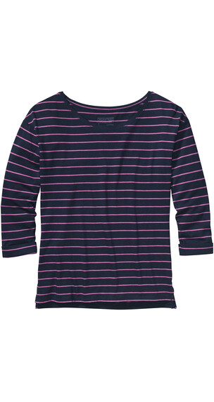 Patagonia W's Shallow Seas Top Nettie Stripe Navy Blue